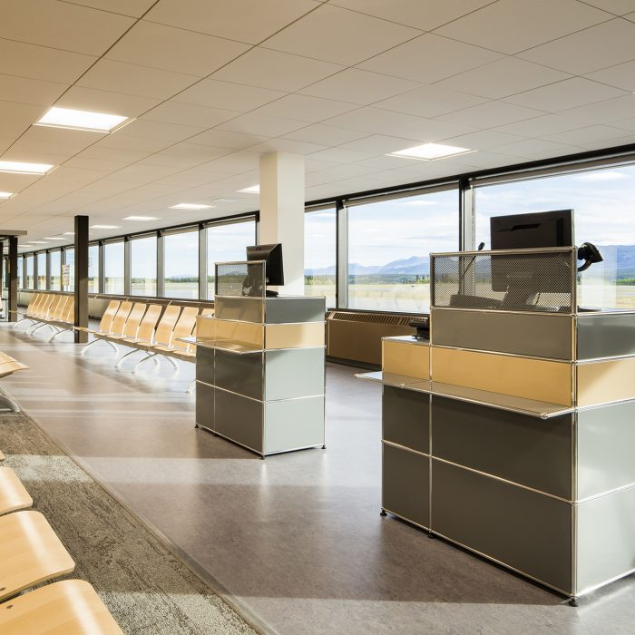 Erik Nielsen Whitehorse International Airport Interior Renovations