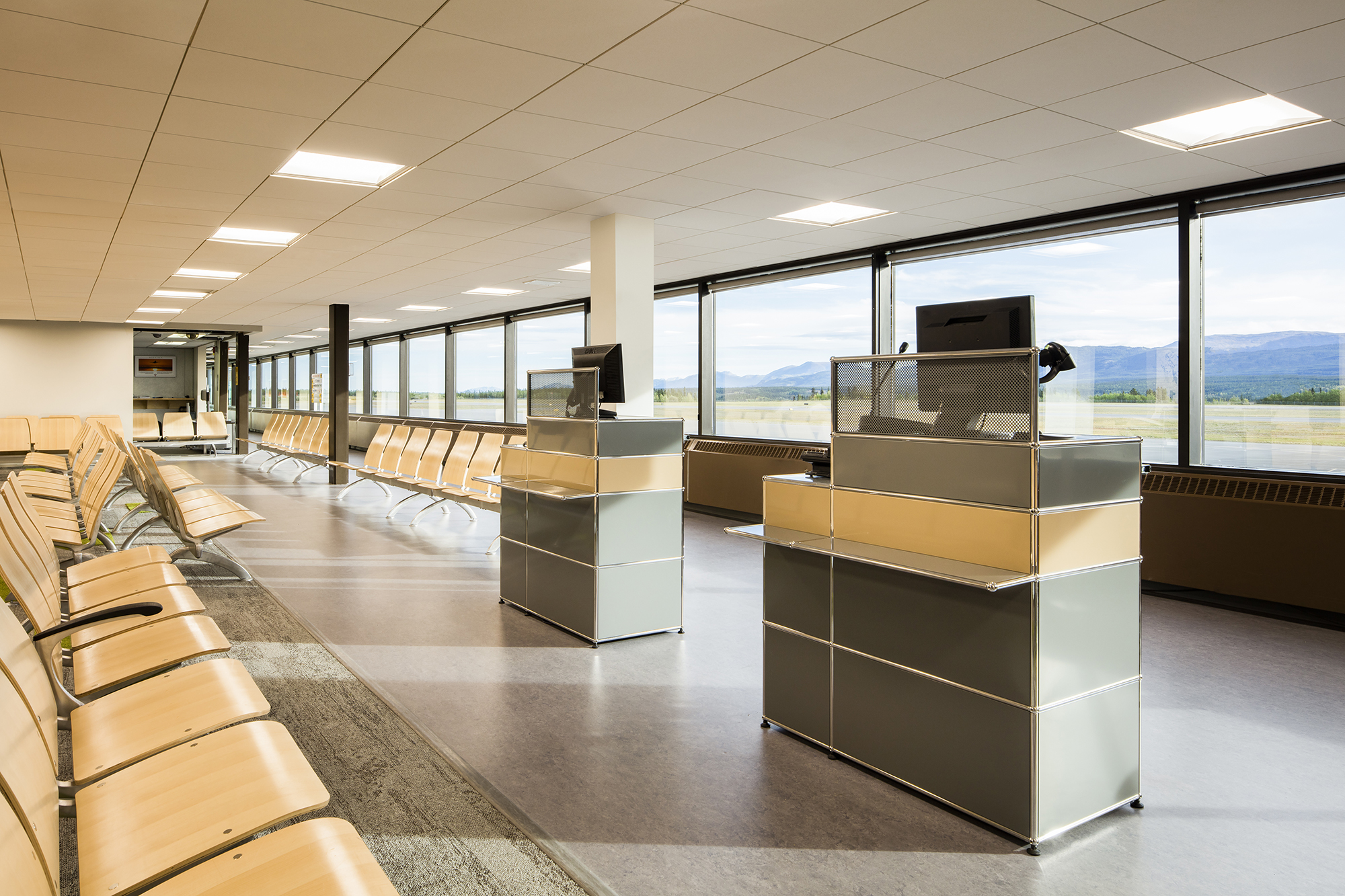 Erik Nielsen Whitehorse International Airport Interior Renovations