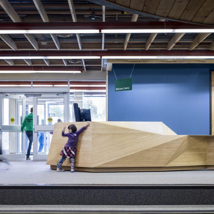 Yukon University Administration + Desk